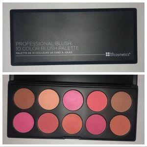 BH Cosmetics Professional Blush 10 Color Palette